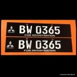 Premium Black Conduction Plate Mitsubishi