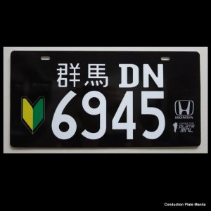 Black Gunma Conduction Plates