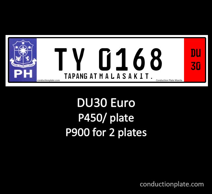 DU30 Euro conduction plate