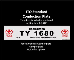 LTO Standard Conduction Plate Design