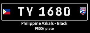 Azkals - premium black conduction plates
