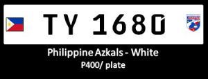 Azkals - premium white conduction plates
