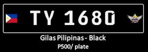Gilas - Premium black conduction plates