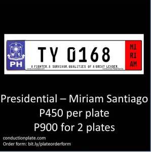 Presidential-Miriam